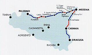 Cartina Ferroviaria Sicilia.Messina Nuova Galleria Dei Peloritani A 100 Anni Dalla Prima